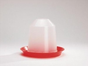plastic kuiken - drinktoren