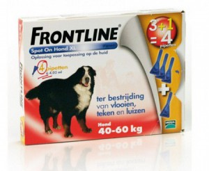Frontline - Spot On Hond (X-Large)