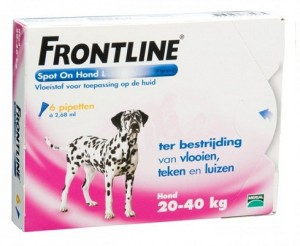 Frontline - Spot On Hond (Large)