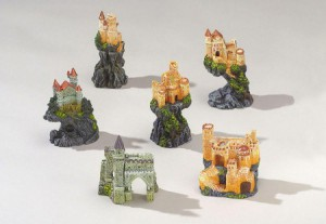 Decor-assortiment Castles