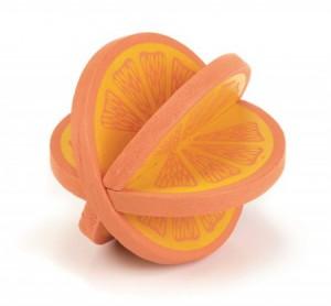 houten speeltje sinaasappel