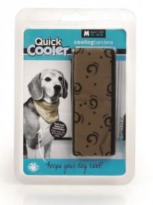 Productafbeelding voor 'quick cooler bandana bruin'