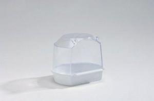 plastic badhuisje