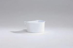 Plastic eet-en drinkbakje