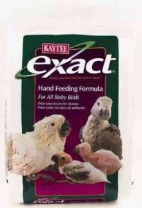 kaytee exact hand feeding
