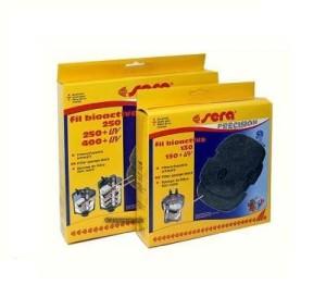 Sera - Filtervlies zwart 250+400