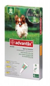 Advantix - Hond 40 (0-4kg)