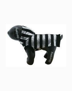 t-shirt silverstripe black