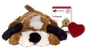 Snuggle Puppy - Bruin/Wit