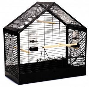 Vogelkooi Yara - Zwart