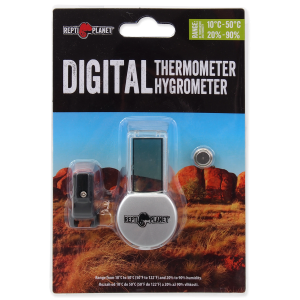 Image of Repti Planet - Thermometer / Hygrometer LCD