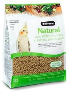 Zupreem - Natural Diet Medium Birds