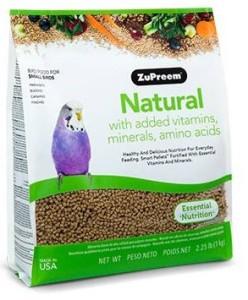 Zupreem - Natural Diet Small Birds
