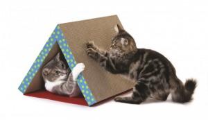 Productafbeelding voor 'Petstages - Opklapbaar Krabtunnel'