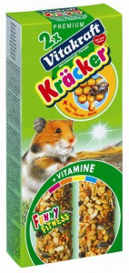 Vitakraft - Cracker 2in1 Hamster/Honing