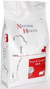 Natural Health Dog - Lamb & Rice Adult