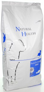 Productafbeelding voor 'Natural Health Dog - Fish & Rice Adult'