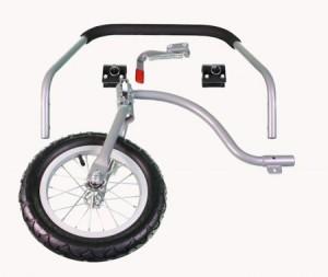 DoggyRide - Jogger/Stroller Set - Zwenkwiel