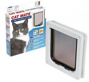 Catmate - Kattendeur met vierwegsluiting
