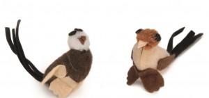 Vogeltjes (6 stuks)