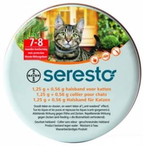 Seresto - Vlooien - tekenband kat
