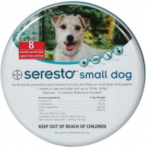 Seresto - Vlooien - tekenband hond < 8kg