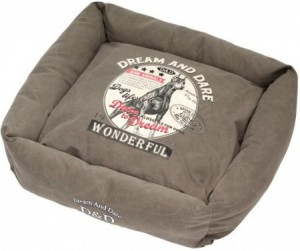 D&D - Lifestyle Square Bed Hunt- Grey