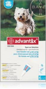 Advantix - Hond 100 (4-10kg)