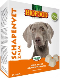Biofood Schapenvet Zalm 40st