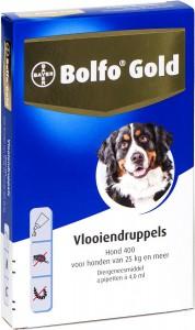 Productafbeelding voor 'Bolfo Gold - Hond 400 (25-40kg)'