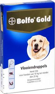 Productafbeelding voor 'Bolfo Gold - Hond 250 (10-25kg)'