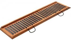 Loopplank-opstapje Inklapbaar 120cm