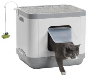 Productafbeelding voor 'Kattentoilet - Slaap - Krab Catconcept'