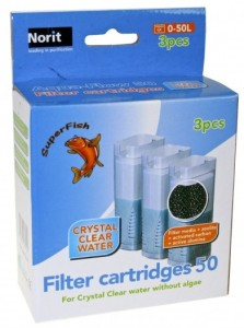 Superfish - Crystal Clear Filter Cartridge 3st.(refill)