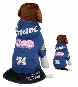 Dog Coat D&d Bravedog Distand-blue