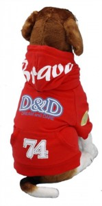 Dog Coat D&d Bravedog Flame Red