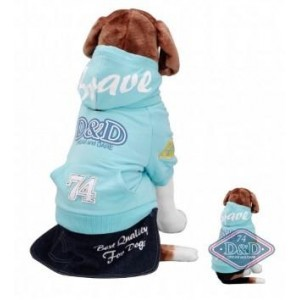 Dog Coat D&d Bravedog Water-blue