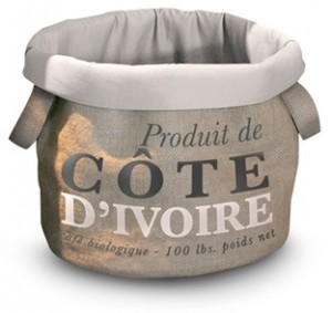 D&D HomeCollection Pet-Bag Coffee Cote Dívoire