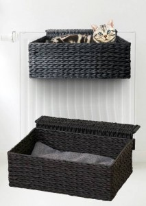 Radiator Bed Cloud Nine Black incl. kussentje
