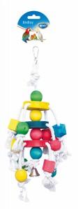 Clustertouw met Kleurrijke blokjes