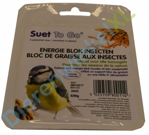 Suet To Go Energie Blok 320 gram