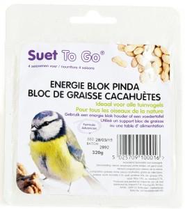 Suet To Go - Energie Blok Pinda
