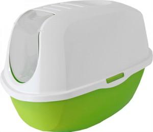 Kattenbak - Moderna - Groen/wit