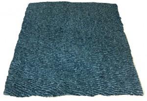 Dry-vetbed Donker grijs/Wit -groene Rug- 150x100cm