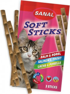 Sanal - Soft Sticks - Zalm & Forel