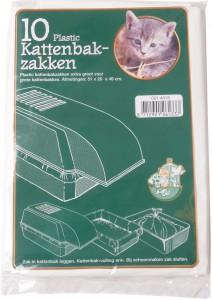 Plastic kattenbakzak groot