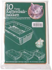 Plastic kattenbakzak
