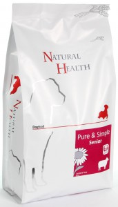 Natural Health Dog - Lamb & Rice Senior