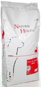Productafbeelding voor 'Natural Health Dog - Lamb & Rice Adult'