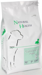 Productafbeelding voor 'Natural Health Dog - Carnivore Puppy'